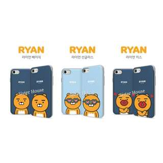 (包郵)🇰🇷Kakao Friends Ryan Bumper Slide Phone Case 手機殼