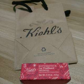 Untinted Kiehl's butterstick lip treatment (limited edition)