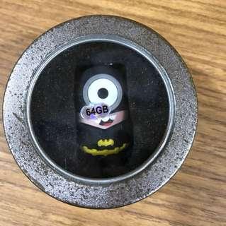 64GB Batman Minion thumbdrive