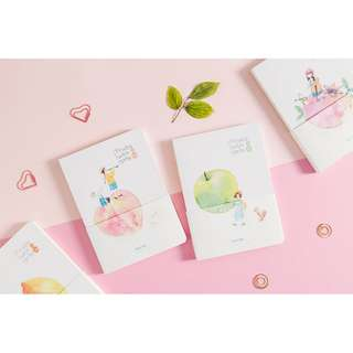 Fruits with Girls Mixed Notebook B6