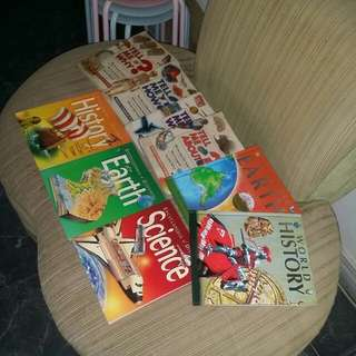 Educational Books SOLD AS SET (Mix of Hardcovers and Softbounds)
