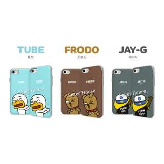 (包郵)🇰🇷Kakao Friends Frodo, Tube, Jay G Bumper Slide Case 殼