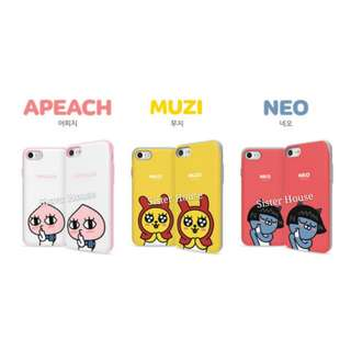 (包郵)🇰🇷Kakao Friends Apeach, Muzi, Neo Bumper Slide Case 殼