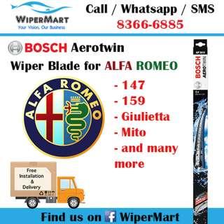 ALFA ROMEO Car wiper