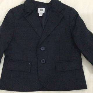 12-18months baby boy blazer dark grey