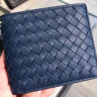 Bottega Veneta Men's Wallet with Coin Compartment