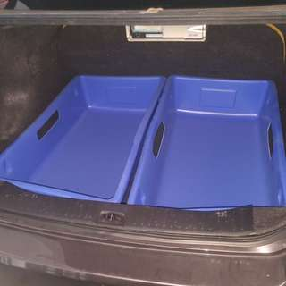 Storage container, extra big, good fit for car