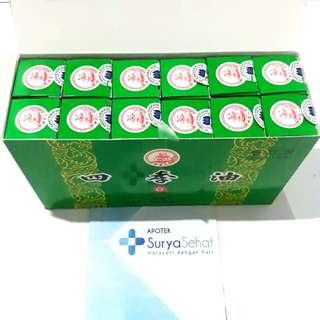 Medicated Oil 20 ml si Ji You Four Season Gambar Budha