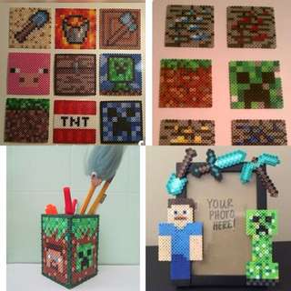Minecraft Hama Bead Designs