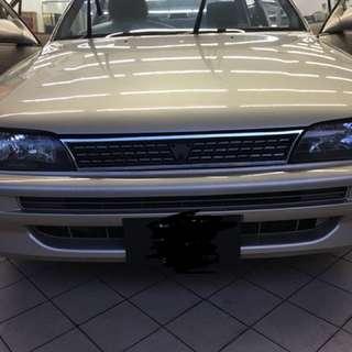 1994 Toyota Corrolla 4AGE silver top 20v