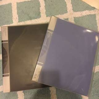 2 big Card folders for $15! With 30 leaves