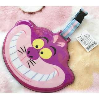 日本版 - Disney Alice in wonderland card case 迪士尼愛麗絲 妙妙貓 行李牌 卡片套 証件套