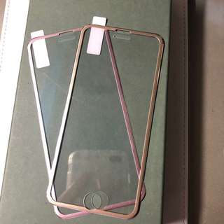 iPhone 6/6s 金屬邊全包全高清玻璃mon貼
