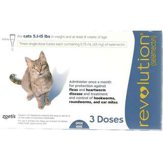 Zoetis Revolution Salemectin for Adult Cats
