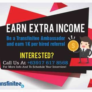 Earn extra as a Freelance Recruitment Officer