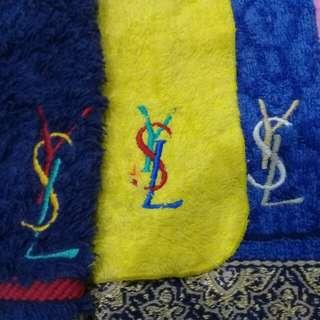 Ysl YVES saint LAUREN face towel