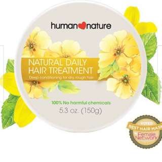 Natural daily hair treatment