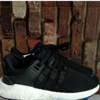 ADIDAS EQT SUPPORT BOOST BLACK WHITE UNAUTRORIZED AUTHENTIC (UA)  BASF BOOST