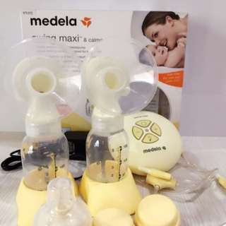 Double breastpump medela maxi swing