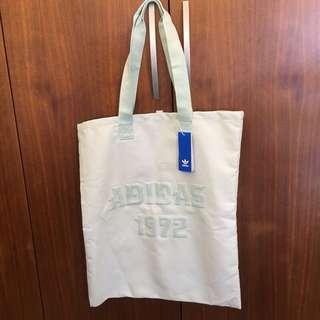 🚚 全新➿Adidas 帆布購物袋