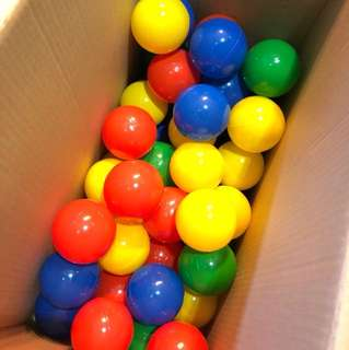 Brand New Play Pen 50 Coloured Balls