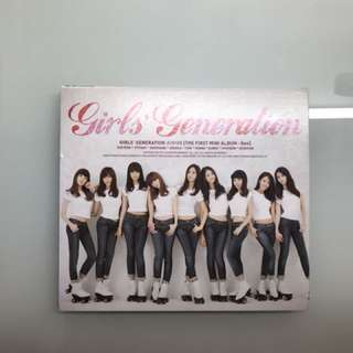 少女時代 首張迷你專輯 [Gee] Girls Generation The First Mini Album [Gee]