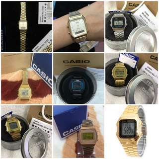 Buy1 take1 OEM Casio Vintage Watch for any design in picture