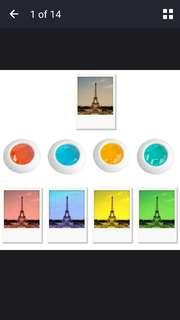 PO - Instax Mini Polaroid 4 Colours Lens