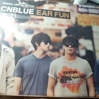 CNBlue  (minhyuk)Ear Fun Special Edition (CD+DVD+,寫真)