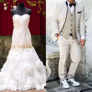 Wedding Gown & Suit