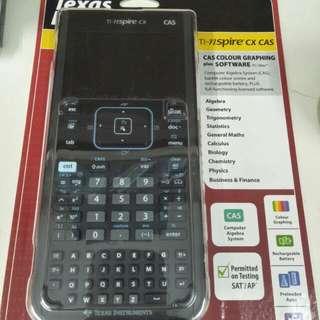 Texas Instrument - nspire cx cas (graphing calculator)