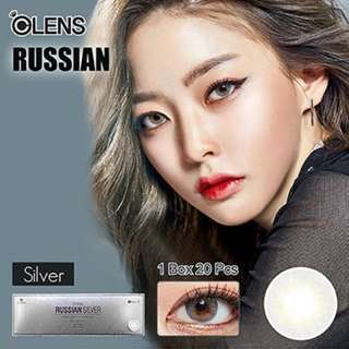 Olens Russian Silver one day contact lens (O-lens)