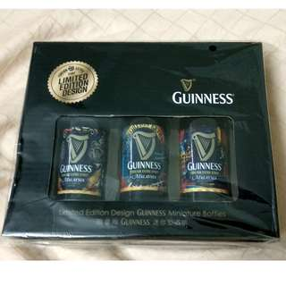 Unusual Guinness Miniature Bottles - Limited Edition