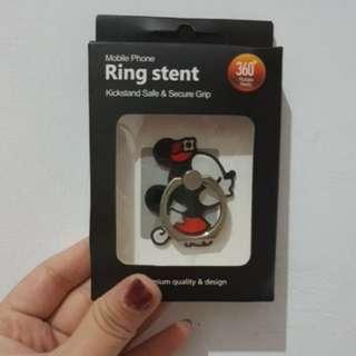 指環ring stent Minnie cute mobile phone