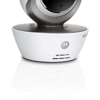 Motorola Focus 85 Connect HD White Wi-Fi Remote Access Monitoring Camera - Motion Triggered Recording,Motoroised Pan Tilt Zoom Function,Two-Way Communication And Night Vision