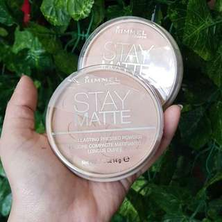 RIMMEL stay matte powder pact