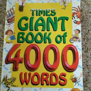 Times Giant Book of 4000 words