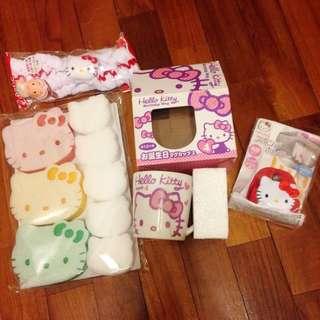 🚚 (日本帶回)Hello Kitty 生活用品 #舊愛換新歡