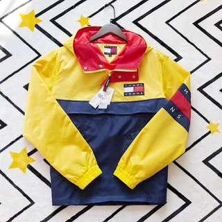 Tommy Hilfiger Colorblocked Pullover Windbreaker Jacket