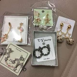 韓國耳環 Korea earrings