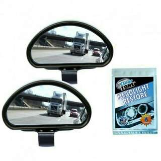Clear Zone Auxiliary Mirror