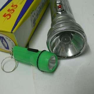 懷舊電筒兩件
