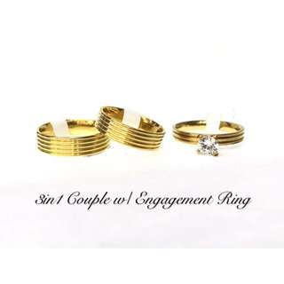 3 in 1 Couple - Engagement Ring
