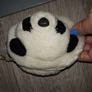 Fluffy coinpurse from hk ocean park large