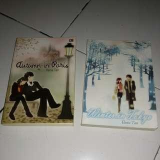 Ilana Tan Novel
