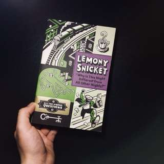 Lemony Snicket - All the Wrong Questions