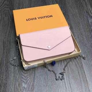 LV Felicie Chain Wallet