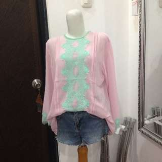 new, pink tosca