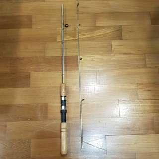 Alphine fishing rod