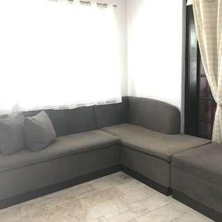 3pcs Lshape sofa
